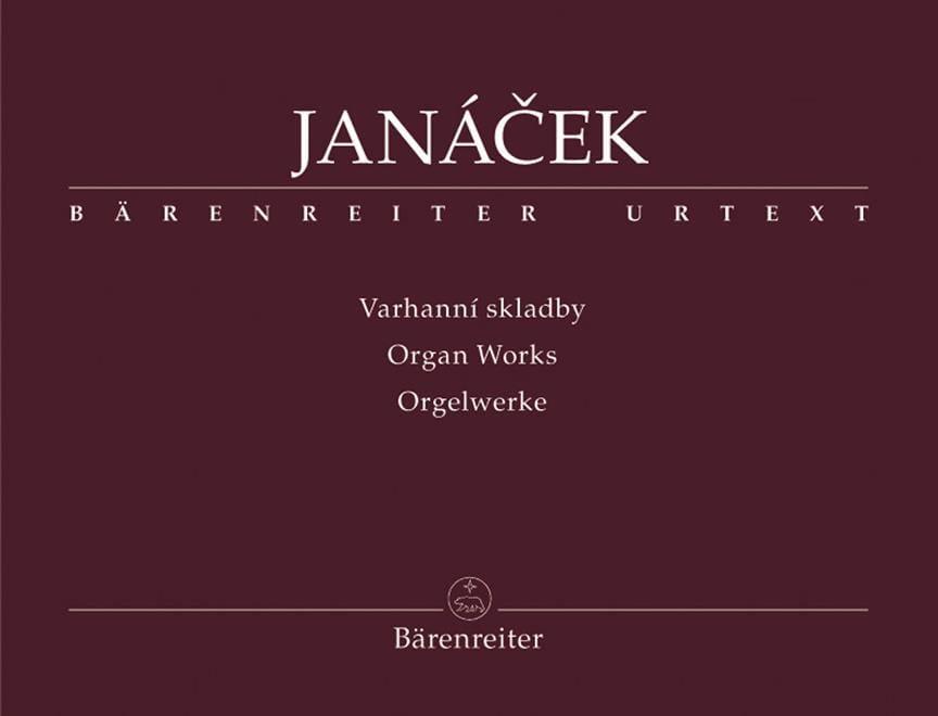 Oeuvre d'Orgue - JANACEK - Partition - Orgue - laflutedepan.com