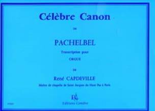 Célèbre Canon. Orgue - PACHELBEL - Partition - laflutedepan.com