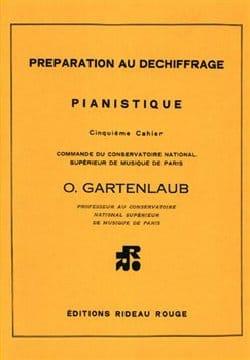 Préparation Au Déchiffrage Pianistique Volume 5 laflutedepan