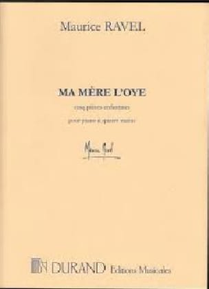Ma Mère L'oye. 2 Pianos - RAVEL - Partition - Piano - laflutedepan.com