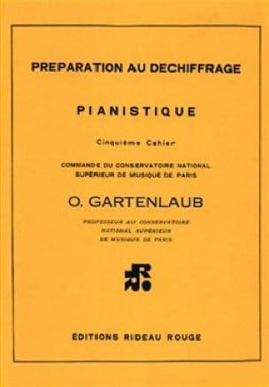 Préparation Au Déchiffrage Pianistique Volume 5 - laflutedepan.com