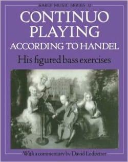 Continuo Playing According To Haendel HAENDEL Partition laflutedepan