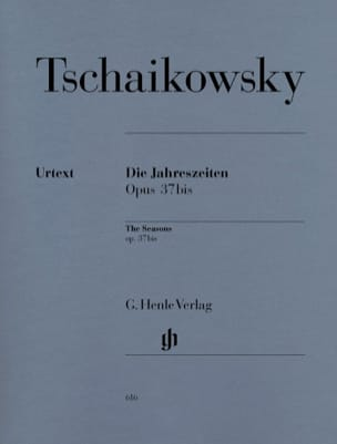 Les Saisons Opus 37bis TCHAIKOVSKY Partition Piano - laflutedepan