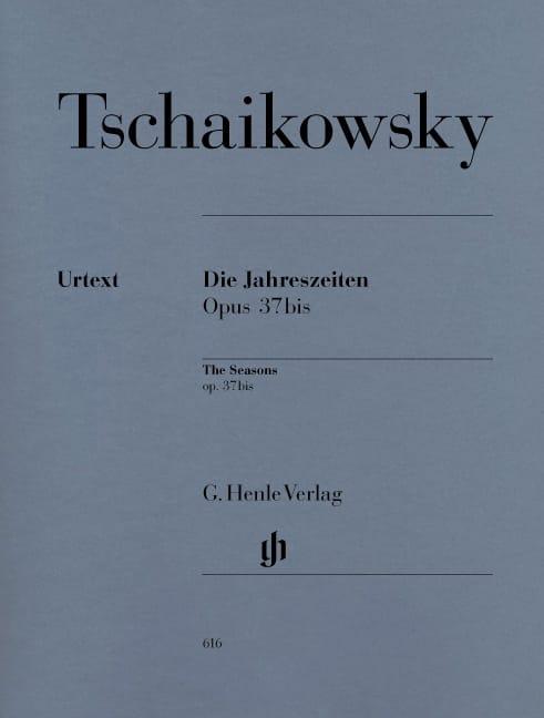 Les Saisons Opus 37bis - TCHAIKOVSKY - Partition - laflutedepan.com
