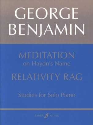 Meditation & Relativity Rag George Benjamin Partition laflutedepan