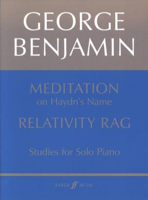 Meditation & Relativity Rag George Benjamin Partition laflutedepan