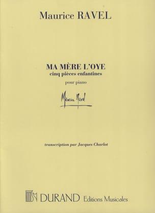 Ma Mère L'Oye RAVEL Partition Piano - laflutedepan