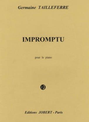 Impromptu - Germaine Tailleferre - Partition - laflutedepan.com