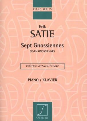 7 Gnossiennes SATIE Partition Piano - laflutedepan