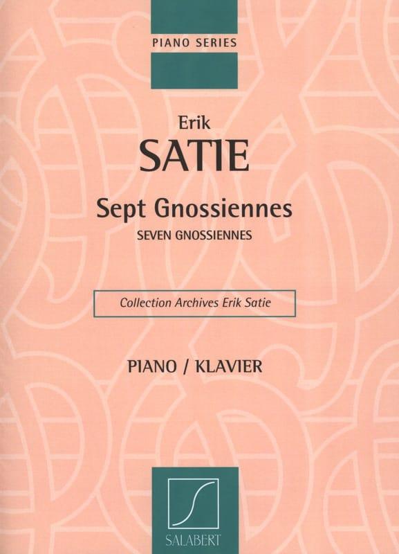 7 Gnossiennes - SATIE - Partition - Piano - laflutedepan.com