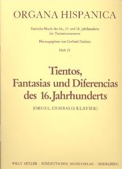 18 Tientos, Fantasias Und Diferencias des 16. Jahrhunderts Volume 4 laflutedepan