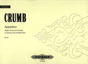 Apparition George Crumb Partition Mélodies - laflutedepan