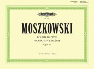 Danses Populaires Polonaises Opus 55. 4 Mains laflutedepan