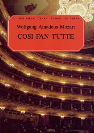 Cosi Fan Tutte K 588 - MOZART - Partition - Opéras - laflutedepan.com