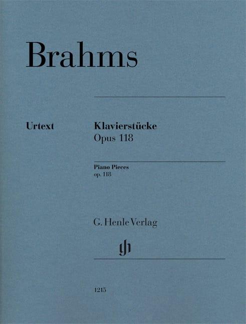 Klavierstücke Opus 118 - BRAHMS - Partition - Piano - laflutedepan.com