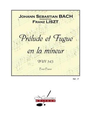 Prélude et Fugue en la mineur - BWV 543 laflutedepan