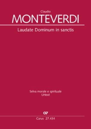 Laudate Dominum in Sanctis SV 287 - MONTEVERDI - laflutedepan.com