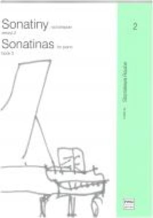 Sonatines - Volume 2 - Partition - Piano - laflutedepan.com