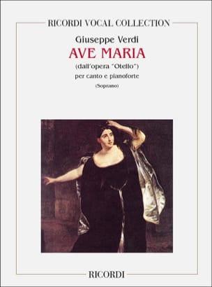 Ave Maria. Otello. VERDI Partition Opéras - laflutedepan