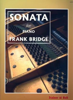 Sonate Frank Bridge Partition Piano - laflutedepan
