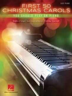 First 50 Christmas Carols Partition Piano - laflutedepan