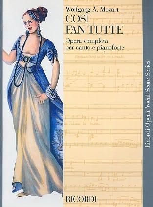 Così Fan Tutte - MOZART - Partition - Opéras - laflutedepan.com