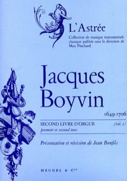 1er Livre D'orgue Volume 1 Boyvin Jacques / Bonfils Jean laflutedepan