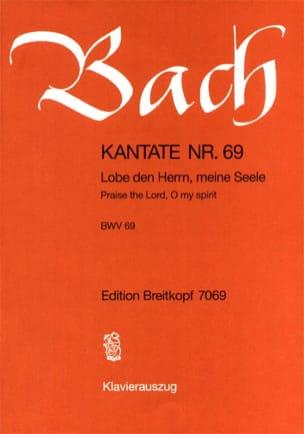 Cantate 69 Lobe Den Herrn, Meine Seele Johann S Bach laflutedepan