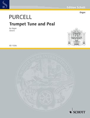 Trumpet Tune und Peal PURCELL Partition Orgue - laflutedepan