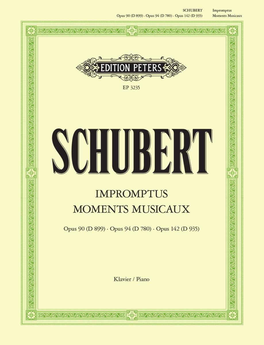 Impromptus et Moments Musicaux - SCHUBERT - laflutedepan.com