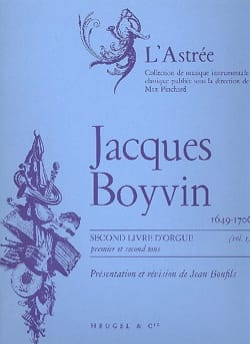 2ème Livre D'orgue Volume 1 Boyvin Jacques / Bonfils Jean laflutedepan