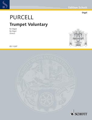 Trumpet Voluntary PURCELL Partition Orgue - laflutedepan