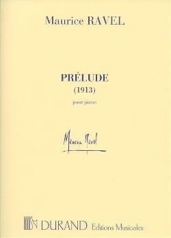 Prélude 1913 RAVEL Partition Piano - laflutedepan