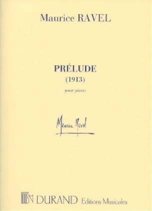 Prélude 1913 - RAVEL - Partition - Piano - laflutedepan.com