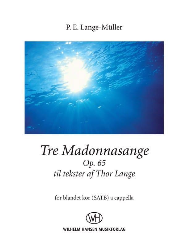 Tre Madonnasange op. 65 - Muller Peter Lange - laflutedepan.com