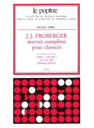 Oeuvres Complètes pour Clavecin. Tome 1 Volume 1 laflutedepan