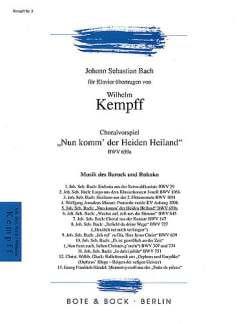 Nun Komm, Der Heiden Heiland BWV 659a - laflutedepan.com