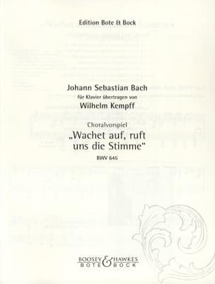 Choralvorspiel : Wachet Auf ! Ruft Uns Die Stimme laflutedepan