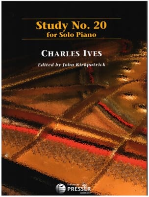 Study N° 20 IVES Partition Piano - laflutedepan