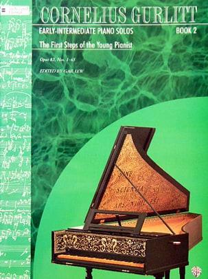 The first steps op. 82. Volume 2 Cornelius Gurlitt laflutedepan
