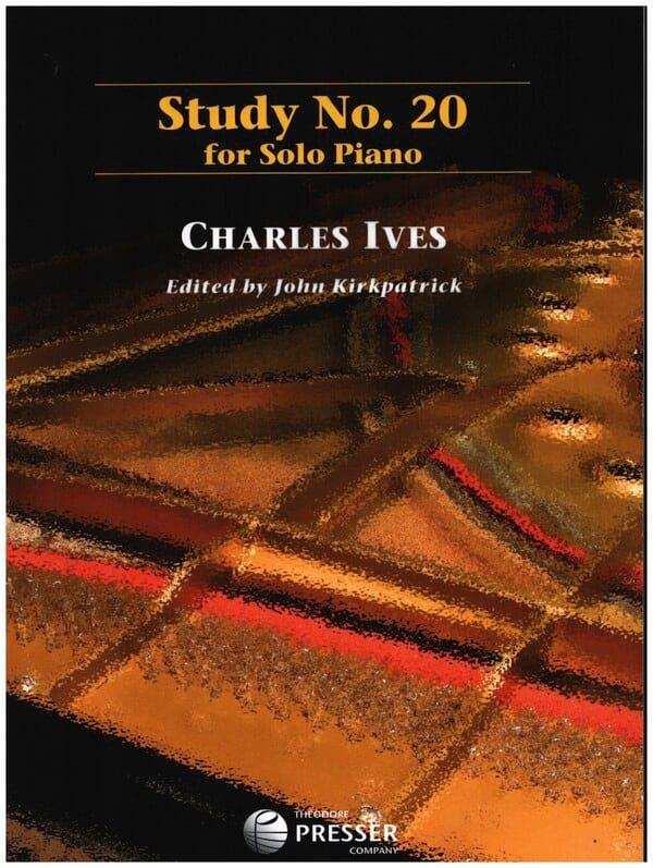 Study N° 20 - IVES - Partition - Piano - laflutedepan.com