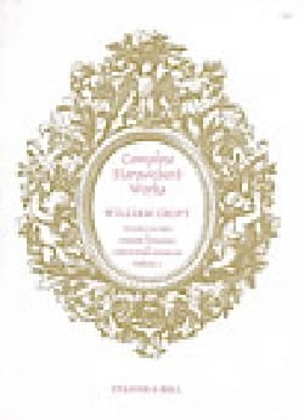 Complete Harpsichord Volume 1 William Croft Partition laflutedepan