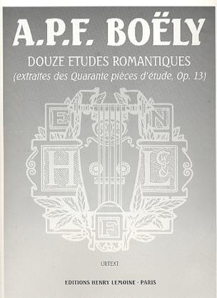 12 Etudes Romantiques Opus 13 laflutedepan