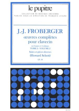 Oeuvres Complètes pour Clavecin. Tome 2 Volume 2 laflutedepan