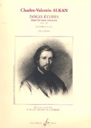 12 Etudes Dans les Tons Mineurs Opus 39 Volume 2 - laflutedepan.com