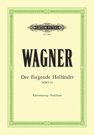 Der Fliegende Holländer Wwv 63 WAGNER Partition Opéras - laflutedepan