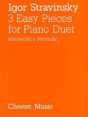 3 Easy Pieces. 3 Mains STRAVINSKY Partition Piano - laflutedepan