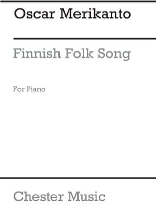 Finnish Folk Song Oskar Merikanto Partition Piano - laflutedepan
