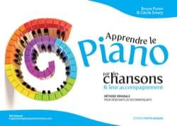Apprendre le piano par les chansons & leur accompagnement. Volume 1 laflutedepan