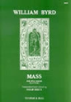 Messe A 5 Voix - Willam Byrd - Partition - Chœur - laflutedepan.com
